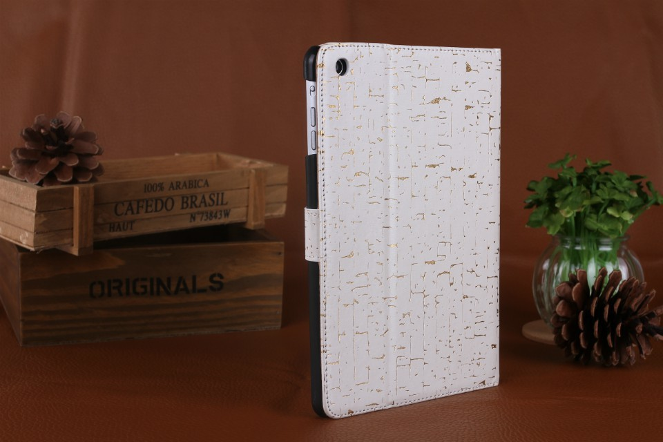 2013Luxury Pattern Magnetic with Stand Leather Case for iPad 4 3 2 ,New Smart Cover for iPad4 , Microfibre Protection Inside