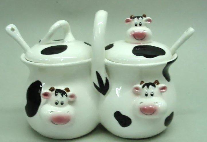 Vacas de ceramica para pintar imagui for Utensilios de cocina de ceramica