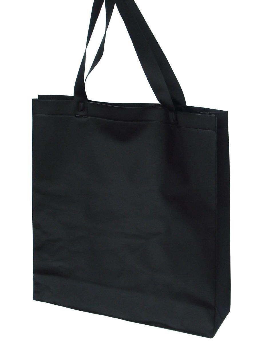 Black plastic shopping bag plastic bag tote towl bag ...