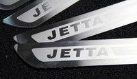 Молдинг для авто Stainless steel Door sill sills scuff plate VW JETTA 6 MK6 2011 2012