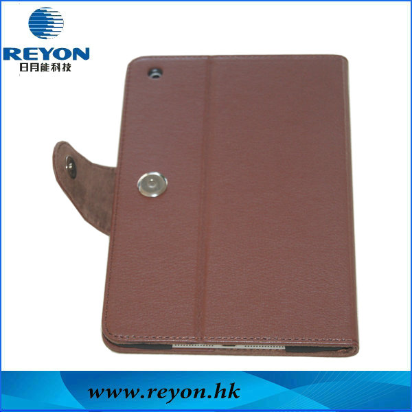 Hot selling leather case for ipad mini 2 smart case