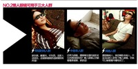 Женские очки для чтения Creative High Definition Horizontal Glasses Lazy Glasses, Novelty Bed Lie Down Periscope Glasses