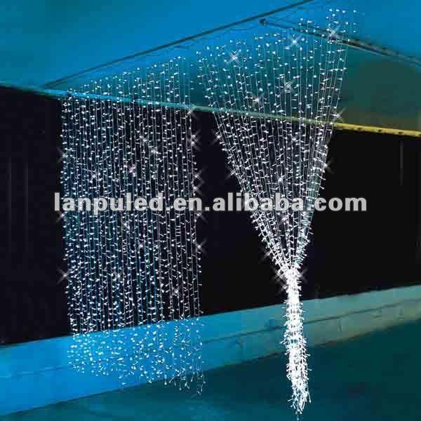 Wedding Decorative Christmas Led Decoration Light Curtain