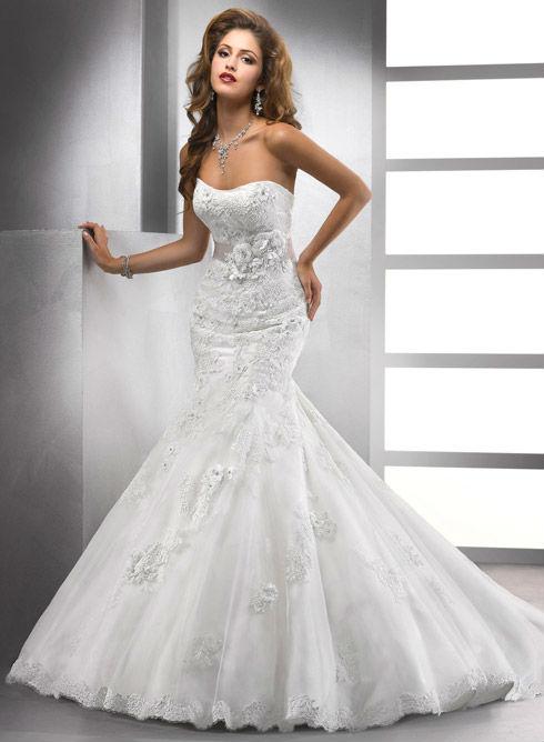 Vestiti da sposa sirena 2014  Blog su abiti da sposa Italia