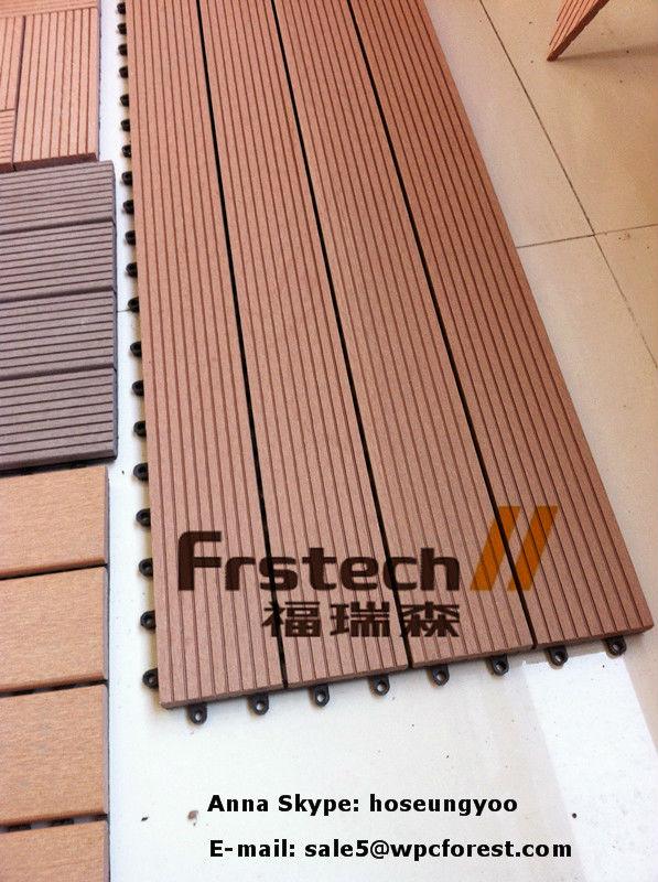 300x900mm wpc interlock decking tile and waterproof balcony flooring
