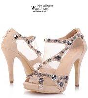 Туфли на высоком каблуке What i want hollowed