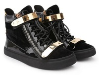 Женские кеды Large size fashion high top italian woman shoes casual sneakers wedge 2013 size 45
