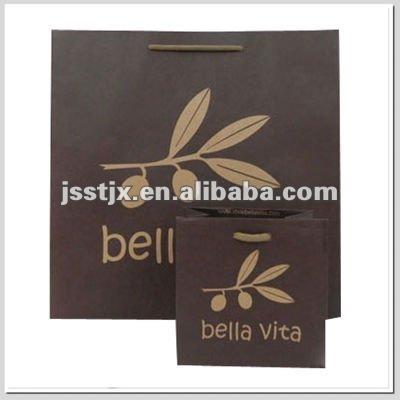 custom paper tote printing bag