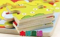 10 штук деревянные головоломки детский сад Детские игрушки 9 кусок головоломки игрушка