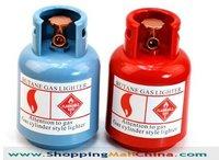 Funny & novelty gas tank, gas bottle piggy bank, money jar, coins piggy bank, free shipping SMC57