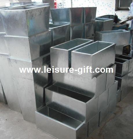 galvanized window planter boxes 2