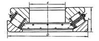 Роликовый упорный подшипник 220mm Diameter Symmetric spherical roller thrust spherical roller bearings 9069344 220mmX360mmX85mm Rigs, Generator, Motors, Crane