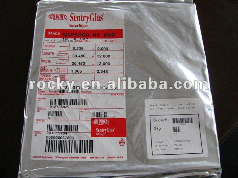DuPont SGP Laminated Glass