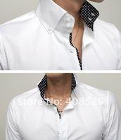 Мужская классическая рубашка Brand New Slim Fit M, L, XL 3239 3239#