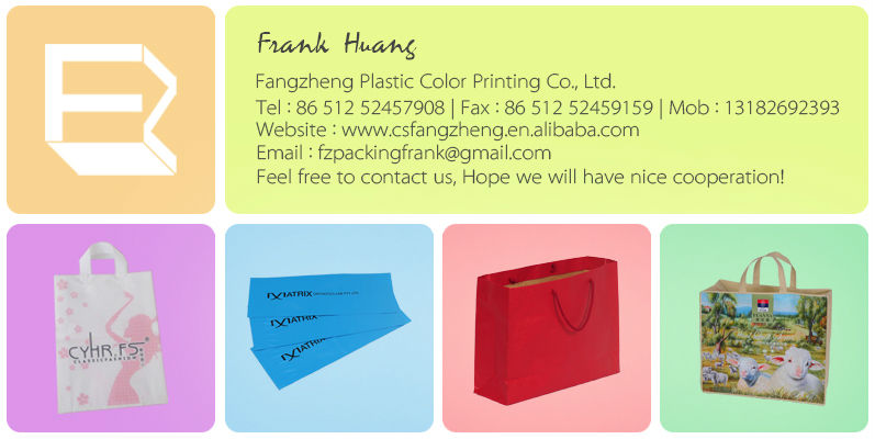 Specializing in the wholesale for photo print plastic bags