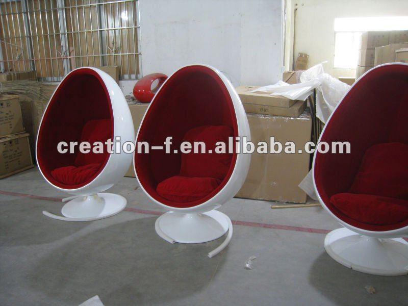 Eero aarnio huevo pod colgante sillas sala estar for Silla huevo colgante
