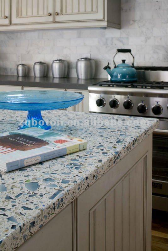 Artificiale lastra di quarzo colorato starlight banco/top cucina ...