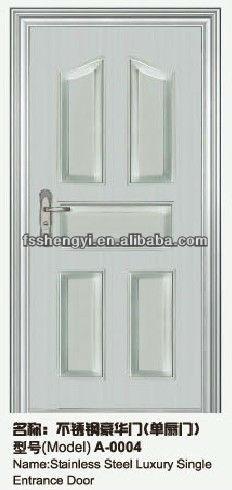 Commercial Double Steel Doors Exterior View Commercial Double Glass Doors Shengyi Casen