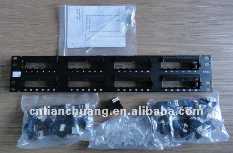 Amp Cat6 48 Port Modular Patch