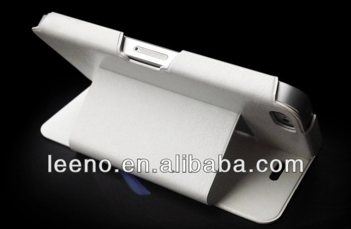 2014 hot sale flip leather case cover for nokia lumia 720 high quality