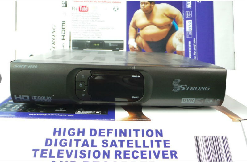 Strong 4930 full HD with ethernet port set top box sample available