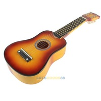 Гитара 21 Inch 6 String Acoustic Guitar Beginners Practice Musical Instrument