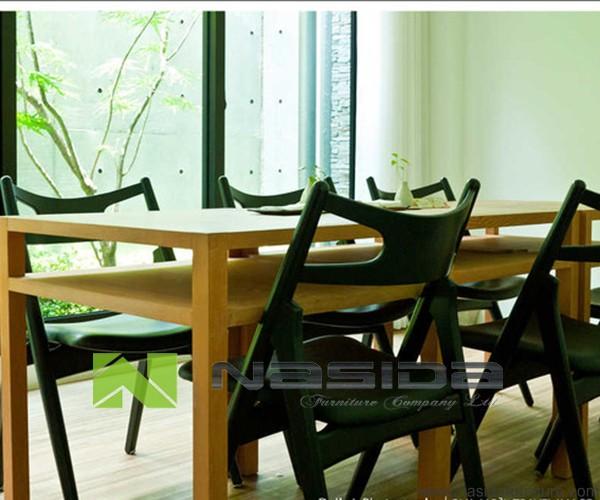 ch245 호두 단단한 나무 의자 한스 웨 그너 ch29 식당에서-식당 의자 ...