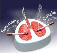 Christmas Ashtray imitation real cough creative lung ashtray business gifts christmas gift 13.5 * 12 CM ZYTYH3