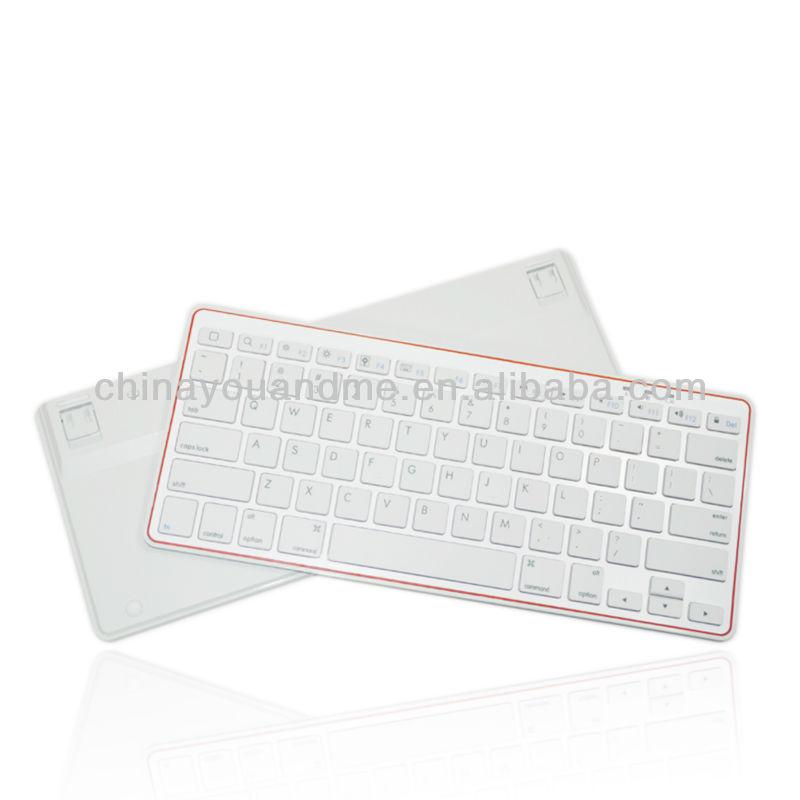 Lithium Battery swivel bluetooth keyboard case for ipad 2 ipad 3 ipad mini ipad 4