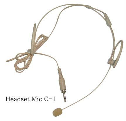 ชุดหูฟังไร้สายuhfไมโครโฟนwms8004t22c14x1