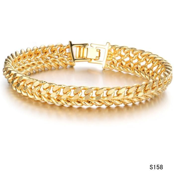 круглые золотые браслеты женские