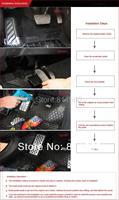 Педали для авто Kadore MT TRD 2007/2015 Toyota Camry 4