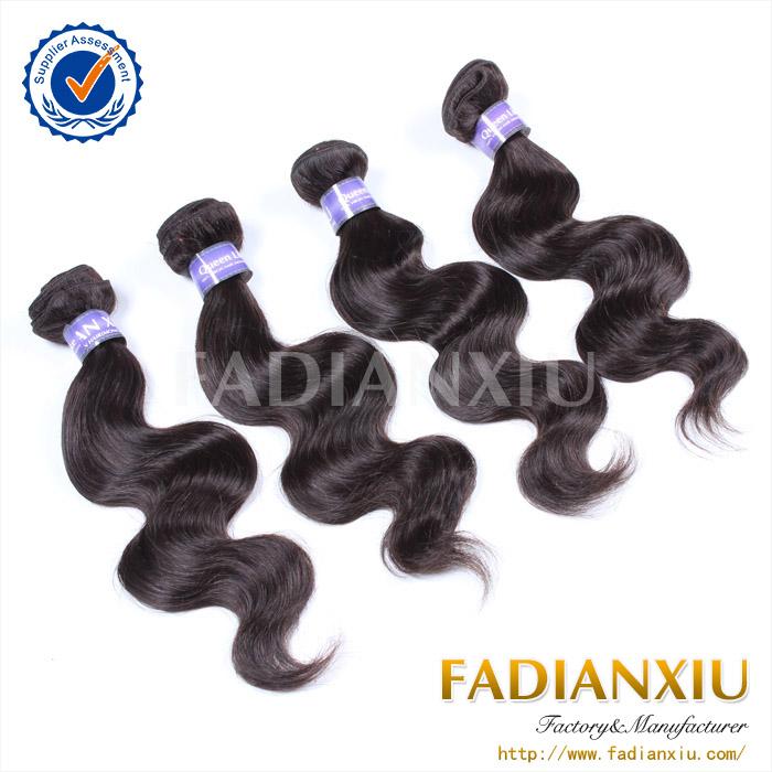 Vente chaude tissage de cheveux vierge brésilienne corps vague cheveux bundle