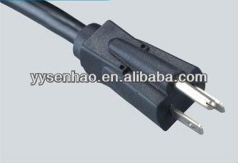 American and canada 110V UL NEMA 5-15 power cord
