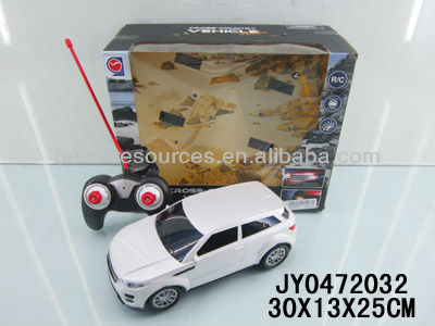 Hot sela 3D light remote control car 1:18 simulation /Package electricity