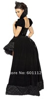 Женский эротический костюм sexy queen, sexy costumes size L hat/coat/dress 5100