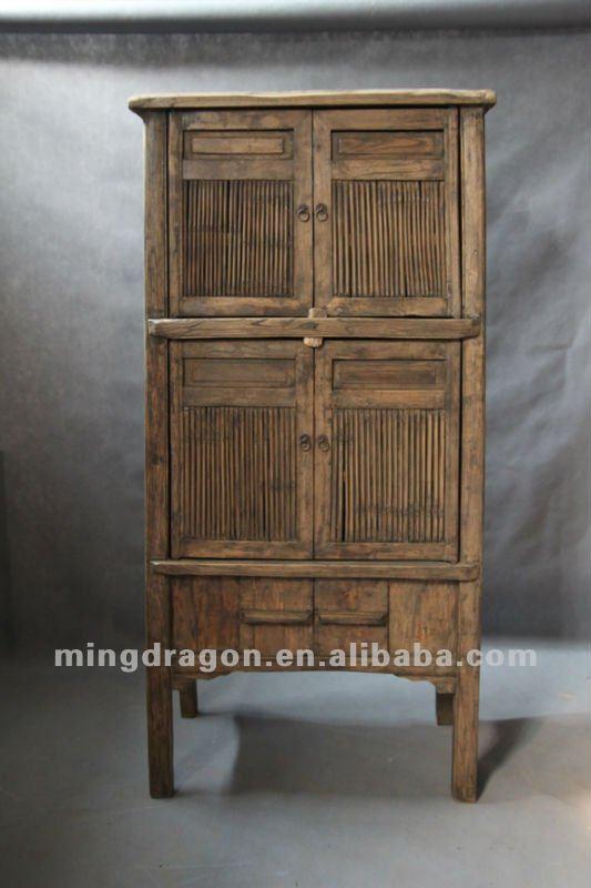 Muebles antiguos chinos de madera de pino de madera - Armarios de cocina antiguos ...