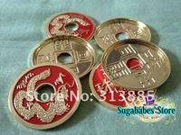 Волшебная монета расширена китайский оболочки /5pcs/lot