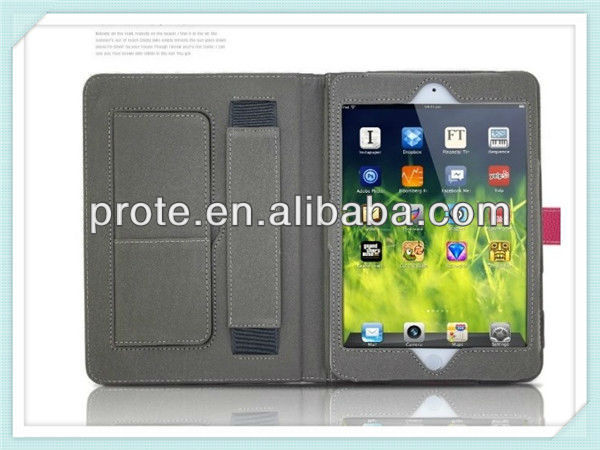 Wallet Card Slot Magnetic Flip leather case for iPad 2 3 4