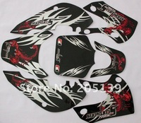 Наклейки для мотоцикла new Motocross 3M 27# graphics kit decals sticker for MOTORCYCLE DIRT PIT BIKES KLX 110