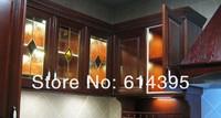 Аварийное освещение NEW model led cabinet light 9PCS 5050SMD 12V 1.8W aluminum indoor furniture led under cabinet down light show case easy install