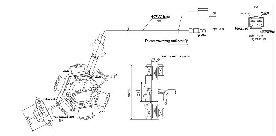 8 pole stator wiring diagram 8 get free image about wiring diagram