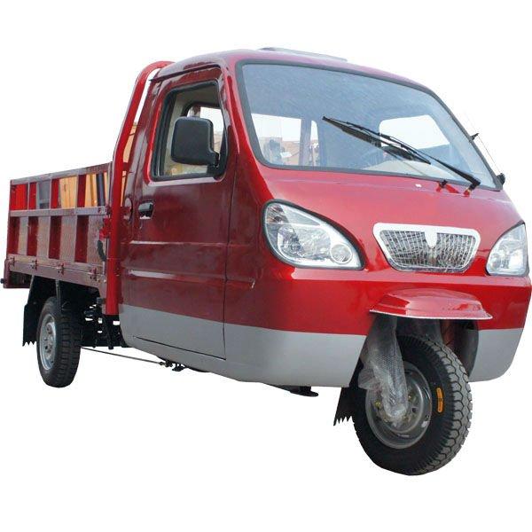 2014 New design KA175ZH-2C Red Farming Indian Cargo Trike
