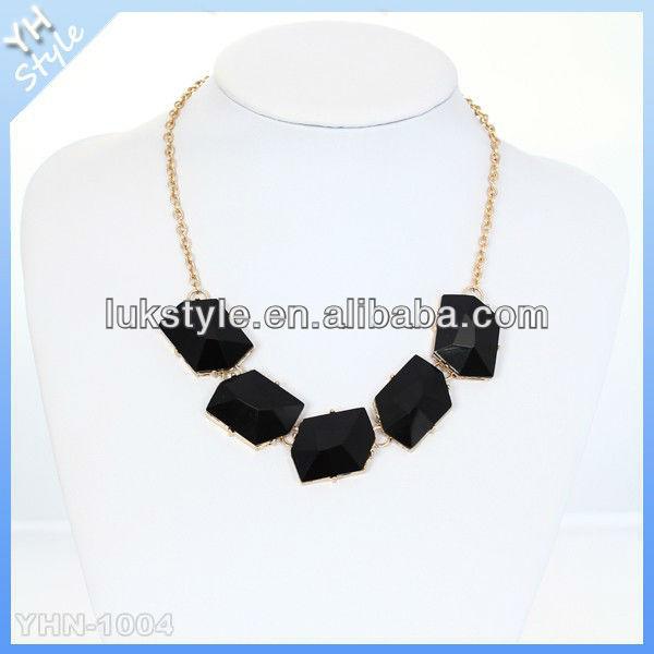 2013 Wholesale chunky fashion necklace