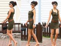 Женские платья / хлопок / без рукавов / 9 цветов бесплатно размер a1040