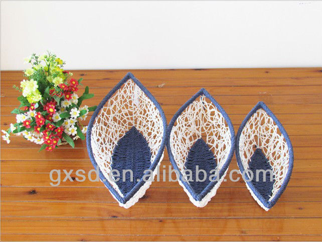 Shangdi products white blue art and craft for waste for Any craft item with waste material