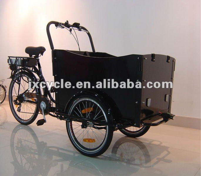 three wheels Electric Cargo bicycle