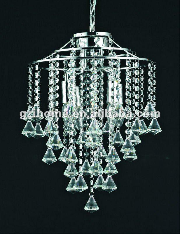 L mpara cristalina moderna candelabros con las bolas - Lamparas arana modernas ...