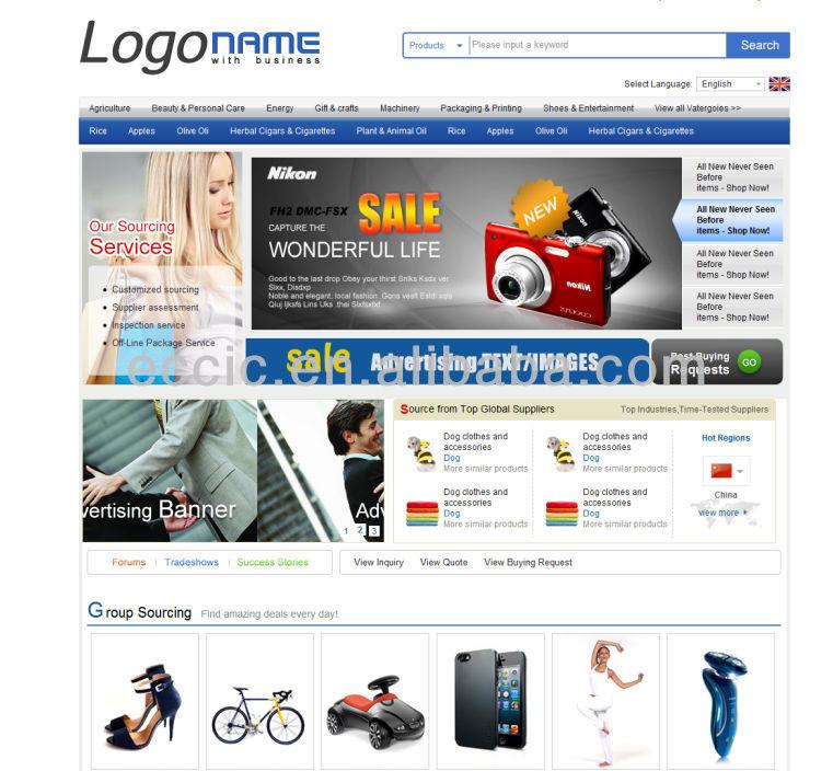 online shopping, online store, & ecommerce website design