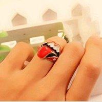 Romantic Sexy Charming Lip Ring For Lady Girl, Inner diameter 17mm J1099
